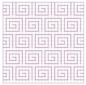 Blackwork Filler Pattern 19