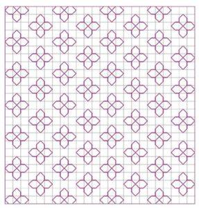 Blackwork Filler Pattern 22