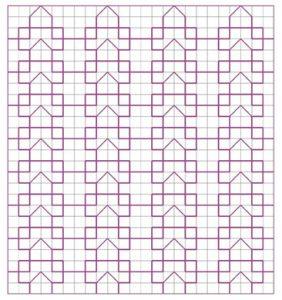 Blackwork Filler Pattern 27