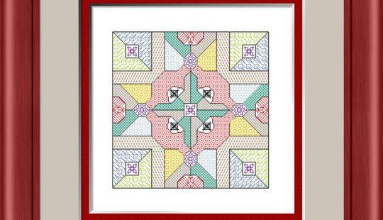 Four Squared - Blackwork