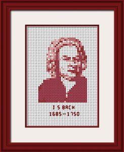 J S Bach - Mahogany