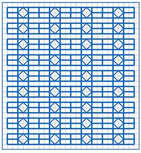 Newsletter Blackwork Pattern 17