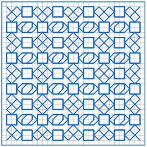 Newsletter Blackwork Pattern 18