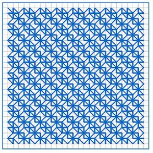 Newsletter Blackwork Pattern 20