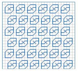 Newsletter Blackwork Pattern 22