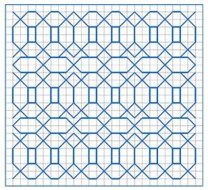 Newsletter Blackwork Pattern 23