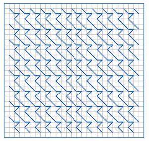 Newsletter Blackwork Pattern 25