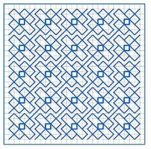 Newsletter Blackwork Pattern 26