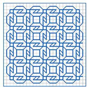 Newsletter Blackwork Pattern 29