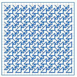Newsletter Blackwork Pattern 16