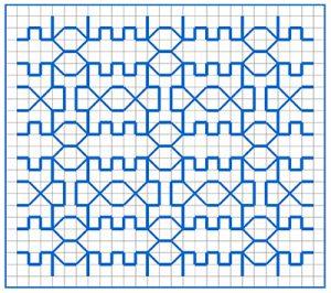 Newsletter Blackwork Pattern 31