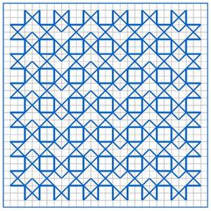 Newsletter Blackwork Pattern 33