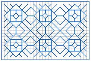 Newsletter Blackwork Pattern 34