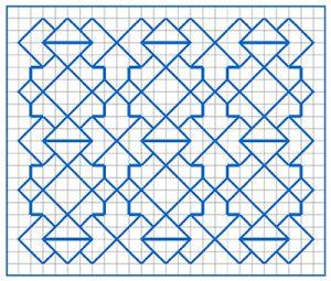 Newsletter Blackwork Pattern 35