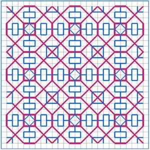 Newsletter Blackwork Pattern 36