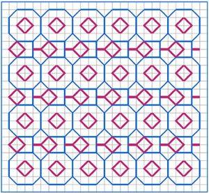 Newsletter Blackwork Pattern 37