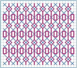Newsletter Blackwork Pattern 39