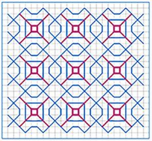 Newsletter Blackwork Pattern 40