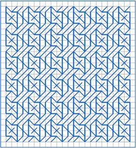 Newsletter Blackwork Pattern 46