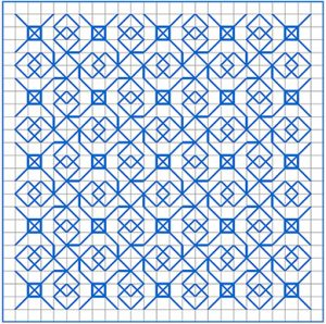 Newsletter Blackwork Pattern 47