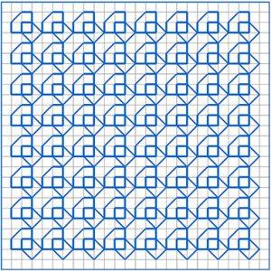 Newsletter Blackwork Pattern 48