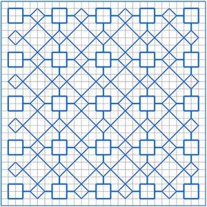 Newsletter Blackwork Pattern 49