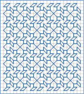 Newsletter Blackwork Pattern 50