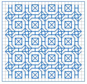 Newsletter Blackwork Pattern 51