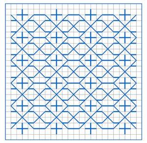 Newsletter Blackwork Pattern 52