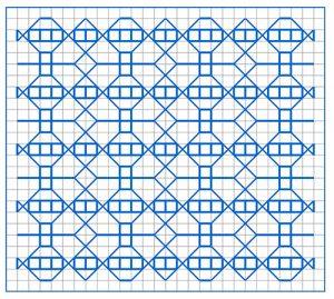 Newsletter Blackwork Pattern 53