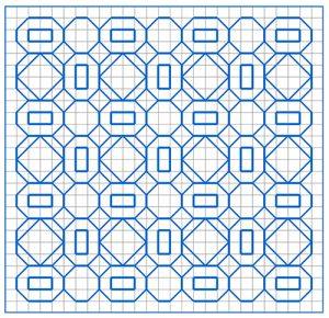 Newsletter Blackwork Pattern 54