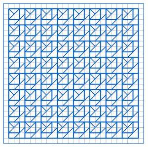 Newsletter Blackwork Pattern 55