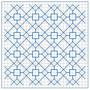 Newsletter Blackwork Pattern 56