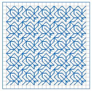 Newsletter Blackwork Pattern 59