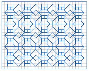 Newsletter Blackwork Pattern 60